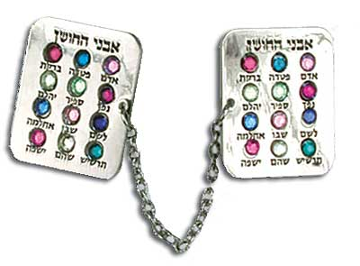 """Breastplate"" Tallit Clips"