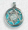 Star of David Sterling Pendant